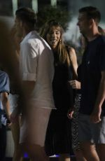 JENNIFER FLANVIN, SCARLET ROSE, SISTINE ROSE and SOPHIA ROSE Night Out on Holiday in Croatia 07/05/2019
