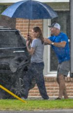 JENNIFER LAWRENCE on the Set of Lila Neugebauer Project in New Orleans 07/02/2019