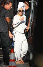JENNIFER LOPEZ Heading to Madison Square Garden in New York 07/15/2019