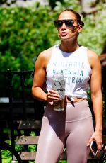 JENNIFER LOPEZ in Tights Out in New York 07/12/2019