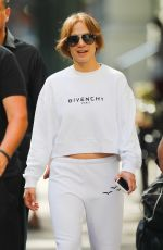 JENNIFER LOPEZ Leaves Her Apartment in New York 07/20/2019