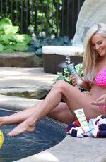 JENNY MCCARTHY in Bikini at a Pool in Los Angeles 07/17/2019