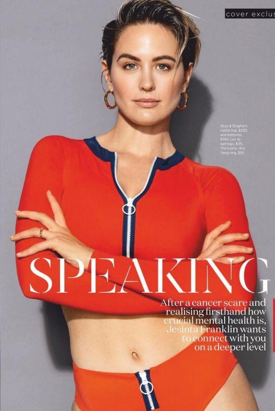 JESINTA CAMPBELL in Women's Health Magazine, Australia August 2019