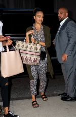 JESSICA ALBA Arrives at Her Hotel in New York 07/15/2019