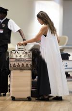 JESSICA ALBA at JFK Airport in New York 07/17/2019