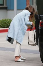 JESSICA ALBA Heading to Her Office in Los Angeles 07/09/2019