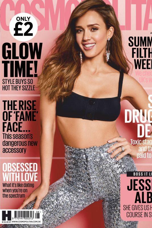 JESSICA ALBA in Cosmopolitan Magazine, UK August 2019