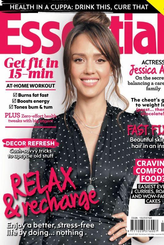 JESSICA ALBA in Essentials Magazine, August 2019