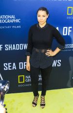 JESSICA PARKER KENNEDY at Sea of Shadows Premiere in Los Angeles 07/10/2019
