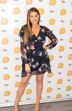 JESSICA WRIGHT at Good Morning Britain in London 07/25/2019