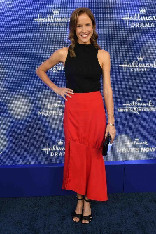 JESSY SCHRAM at Hallmark Movies & Mysteries 2019 Summer TCA Press Tour in Beverly Hills 07/26/2019