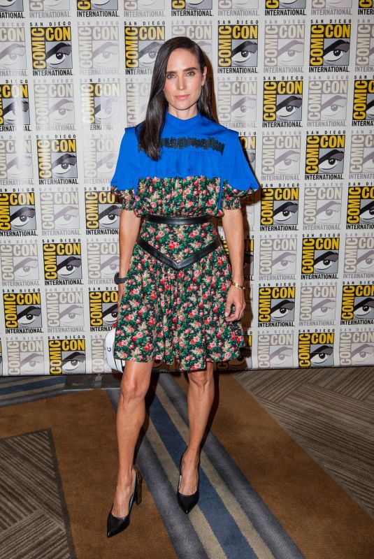 JHENNUFER CONNELLY at Snowpiercer Press Line at San Diego Comic-con 07/20/2019