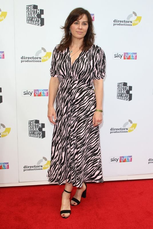 JILL HALPENNY at South Bank SKY Arts Awards in London 07/07/2019