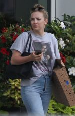 JODIE COMER Out and About in Boston 07/29/2019