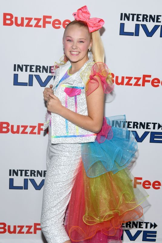 JOJO SIWA at Internet Live by Buzzfeed at Webster Hall in New York 07/25/2019