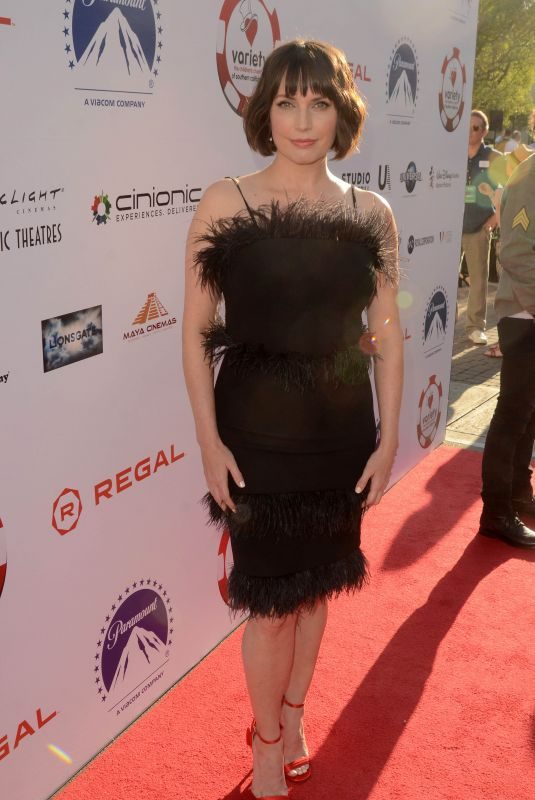 JULIE ANN EMERY at 9th Annual Variety Children's Charity Poker and Casino Night in Hollywood 07/24/2019