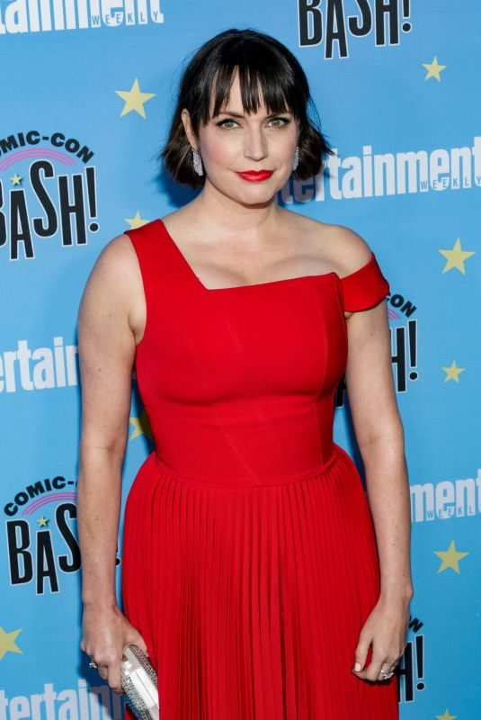 JULIE ANN EMERY at Entertainment Weekly Party at Comic-con in San Diego 07/20/2019