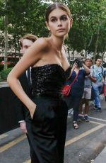 KAIA GERBER at Vogue Dinner Party in Paris 07/02/2019