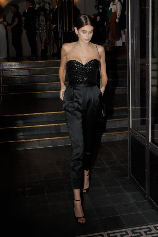 KAIA GERBER at Vogue Paris Foundation Gala in Paris 07/02/2019
