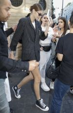 KAIA GERBER Leaves Valentino Show in Paris 07/03/2019