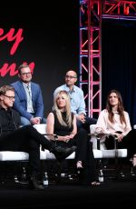 KALEY CUOCO at Harley Quinn Panel at TCA Summer Press Tour in Los Angeles 07/23/2019
