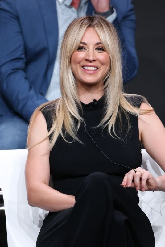 KALEY CUOCO at Harley Quinn Panel at TCA Summer Press Tour in Los Angeles 07/23/2019