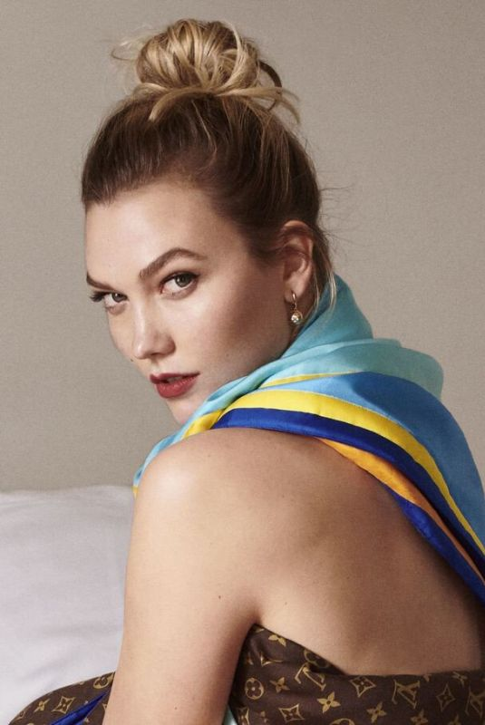 KARLIE KLOSS for Louis Vuitton Alex Israel Campaign 2019