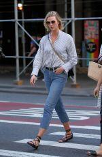 KARLIE KLOSS Out for Ddinner in New York 07/13/2019