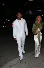 KARRUECHE TRAN and Victor Cruz at Nice Guy in West Hollywood 07/10/2019
