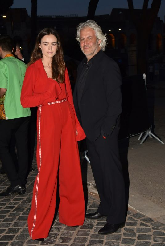 KASIA SMUTNIK at Fendi Fashion Show in Rome 07/04/2019