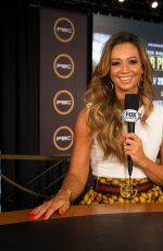 KATE ABDO at PBC on Fox Fight Night Final Press Conference in Las Vegas 07/18/2019