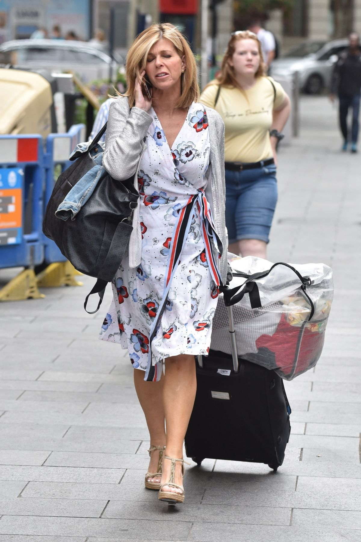 KATE GARRAWAY Arrives at Her Smooth Radio Show in London 07/22/2019