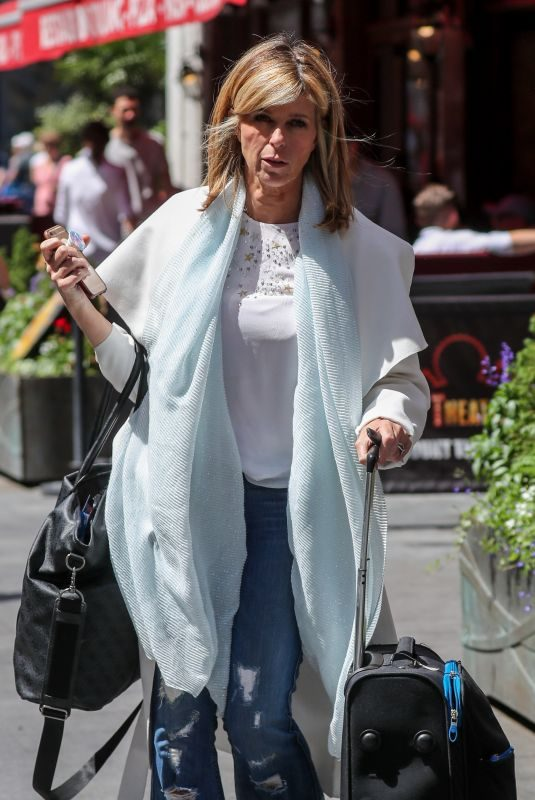KATE GARRAWAY Out and About in London 06/27/2019