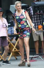 KATE HUDSON on the Set of Mona Lisa and the Blood Moon in New Orleans 06/30/2019