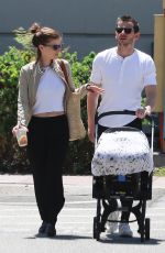 KATE MARA and Jamie Bell Out in Burbank 07/15/2019