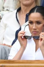 KATE MIDDLETON and MEGHAN MARKLE at Wimbledon 2019 Tennis Championships Women