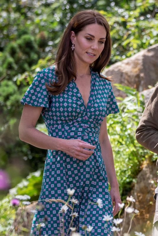 KATE MIDDLETON at 2019 RHS Hampton Court Palace Flower Show in London 07/01/2019