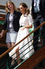 KATE MIDDLETON at Wimbledon Tennis Championships in London 07/02/2019