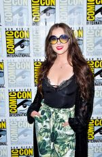 KATHERINE ISABELLE at The Order Photocall at Comic-con International in San Diego 07/18/2019