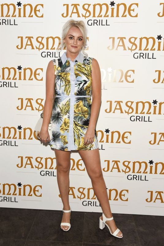KATIE MCGLYNN at Jasmine Grill Launch in Manchester 07/25/2019
