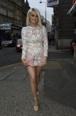 KATIE MCGLYNN Out Celebrates Her Birthday in Liverpool 07/20/2019