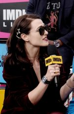 KATIE MCGRATH at #imdboat at 2019 Comic-con in San Diego 07/20/2019