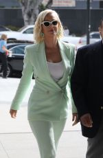KATY PERRY Arrives at a Court in Los Angeles 07/18/2019