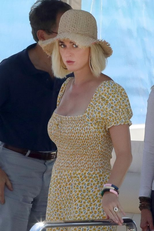 KATY PERY on Vacation in Ibiza 07/28/2019
