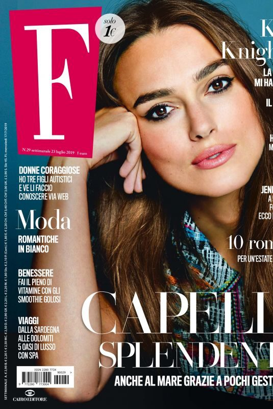 KEIRA KNIGHTLEY in F Magazine, July 2019