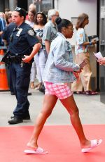 KEKE PALMER Arrives at Good Morning America in New York 07/10/2019