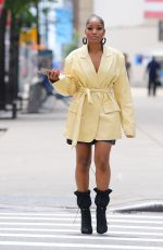 KEKE PALMER Out and Abou Out in New York 07/08/2019