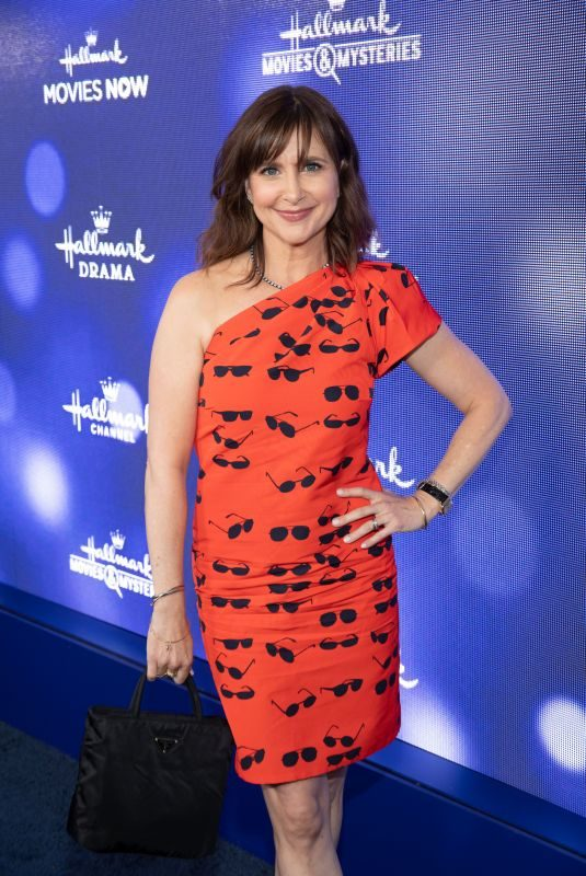 KELLIE MARTIN at Hallmark Movies & Mysteries 2019 Summer TCA Press Tour in Beverly Hills 07/26/2019