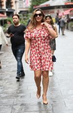 KELLY BROOK Out in London 07/18/2019