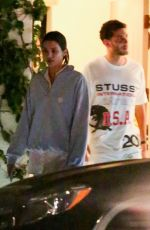 KENDALL JENNER and Fai Khadra Leaves a Party in Los Angeles 07/04/2019